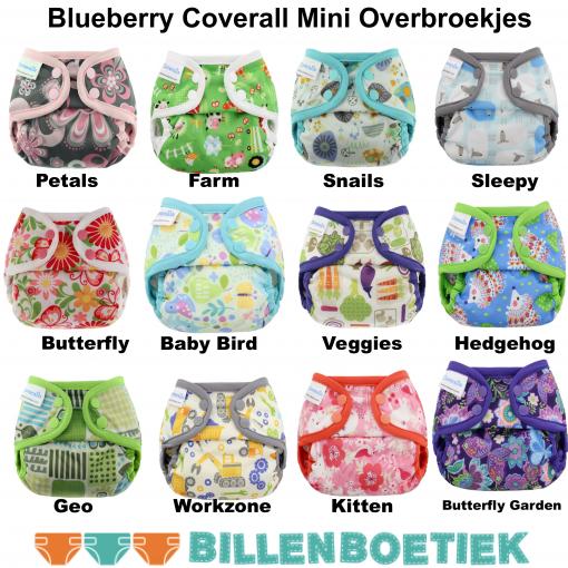 Billenboetiek assortiment Blueberry Coverall Mini Overbroekjes