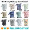 Blueberry Wetbag luiertas voor wasbare luiers van de Billenboetiek