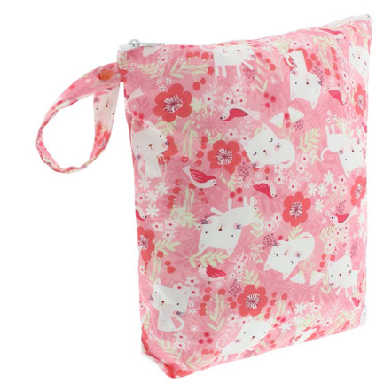 Wetbag voor wasbare luiers Blueberry Kittens