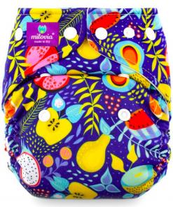 Milovia wasbare Pocket luier van de Billenboetiek in Utrecht Juicy Fruits