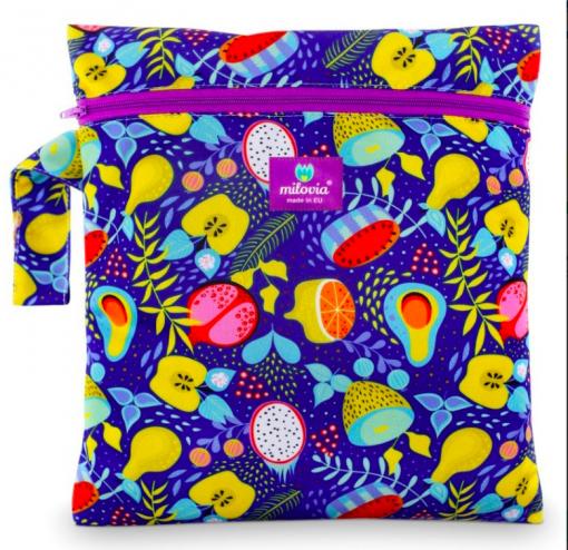 Milovia wetbag voor wasbare luiers van de Billenboetiek juicy fruits