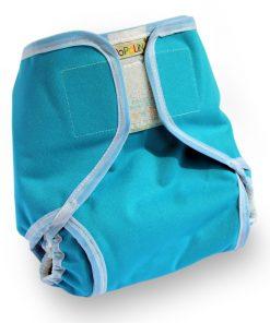 Overbroekje wasbare luier Popolini Popowrap Blauw Turquoise