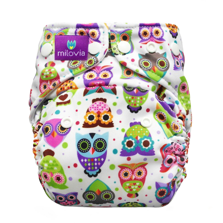 milovia lovely owls pocket coolmax wasbare luiers utrecht Billenboetiek klein