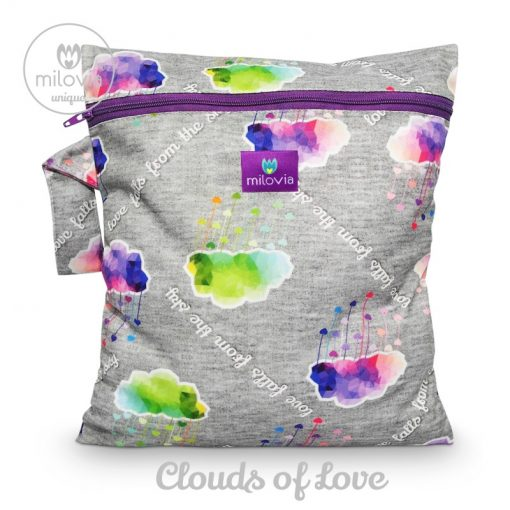 milovia unique clouds of love wetbag