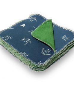 Wasbare billendoekjes billenboetiek origami