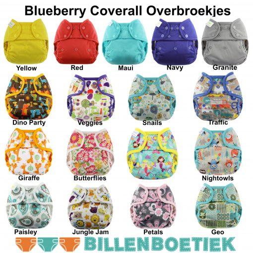 Alle Blueberry overbroekjes in het Billenboetiek assortiment