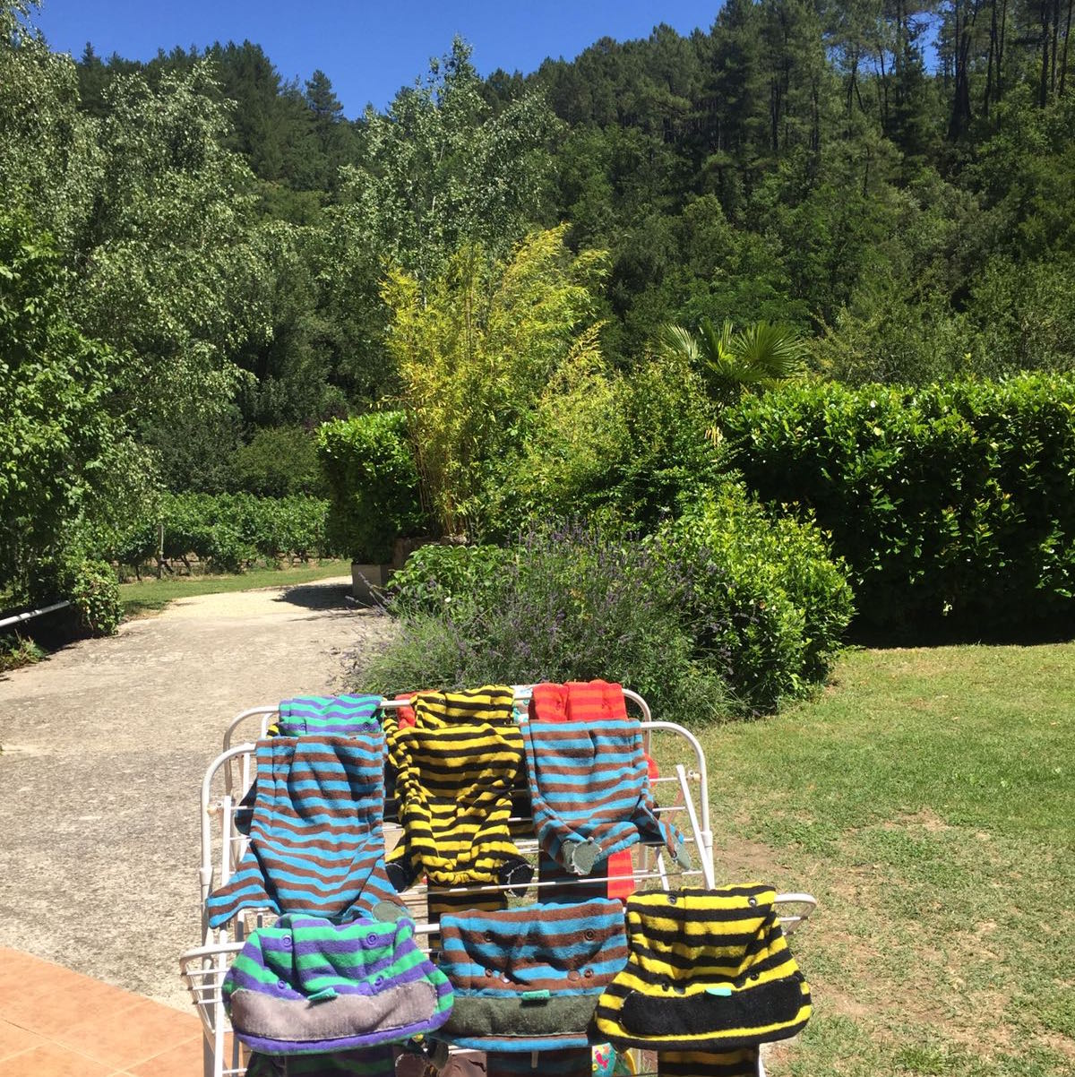 Bamboozles van de Billenboetiek in Frankrijk op vakantie