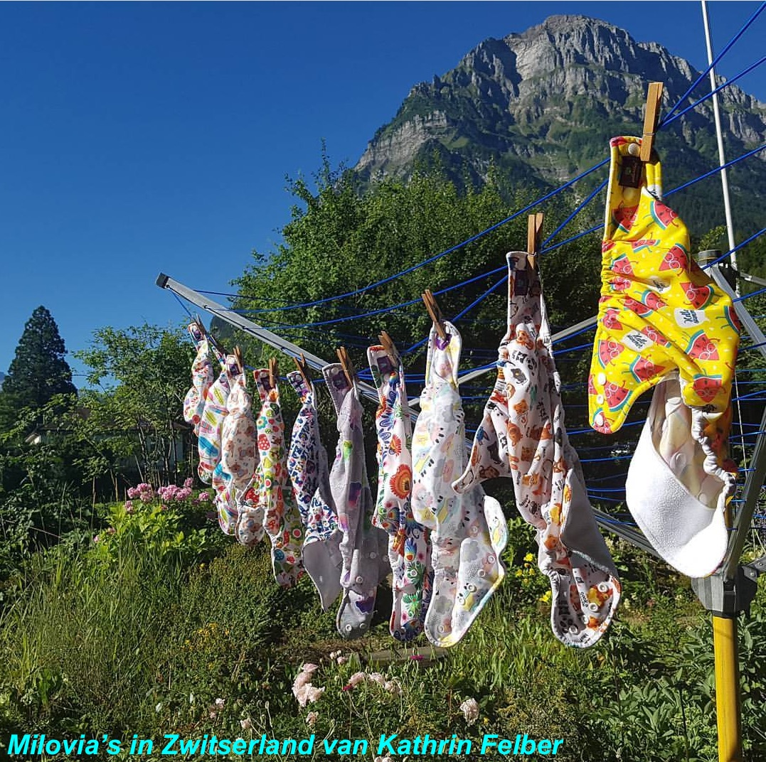 Luiers op vakantie zwitserland Kathrin Felber