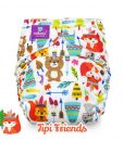 milovia wasbare luiers billenboetiek cloth diapers coolmax Tipi Friends