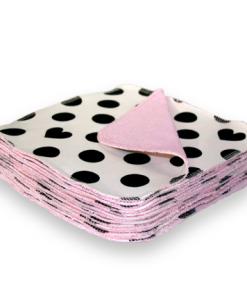 Wasbare billendoekjes billenboetiek pink spot open
