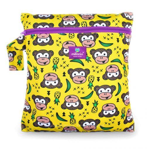 milovia wetbag voor wasbare luiers van de Billenboetiek Funky Monkey