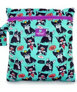 milovia wetbag voor wasbare luiers van de Billenboetiek Mr. & Mrs. Bulldog