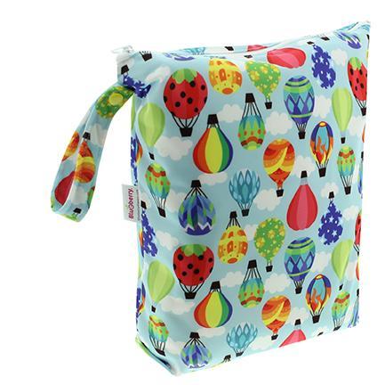Blueberry wetbag voor-wasbare-luiers van de billenboetiek balloons