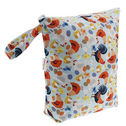 Wetbag voor wasbare luiers van Blueberry - Billenboetiek - Chickadee