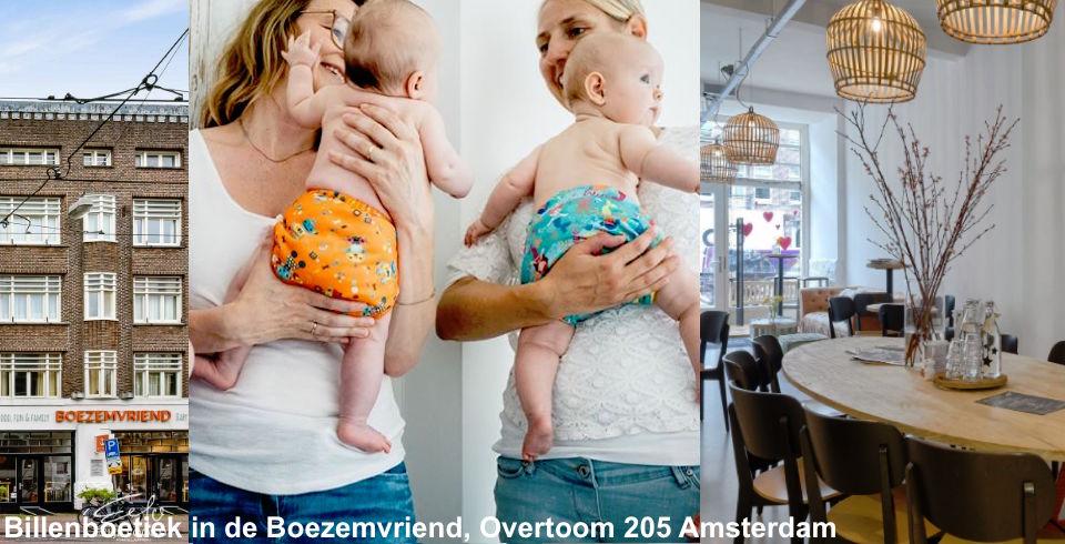 wasbare luiers van de Billenboetiek in Amsterdam de Boezemvriend