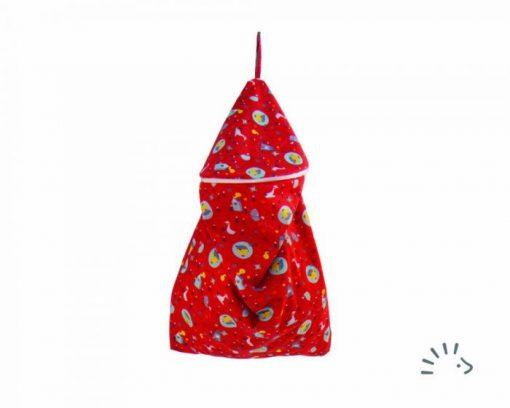 Popolini Rondo luierzak grote wetbag voor wasbare luiers van de Billenboetiek Birdy Red