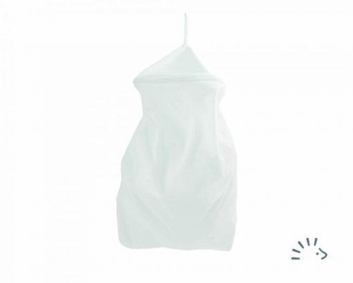 Popolini Rondo luierzak grote wetbag voor wasbare luiers van de Billenboetiek Wit