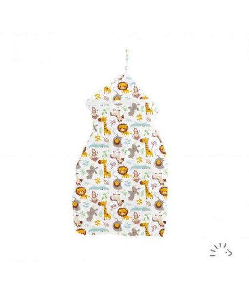 Wetbag voor wasbare luiers XL Rondo van Popolini Billenboetiek Wildlife