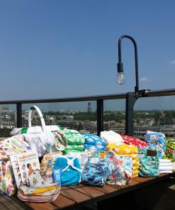 Wasbare luiers luxepakket Billenboetiek Utrecht