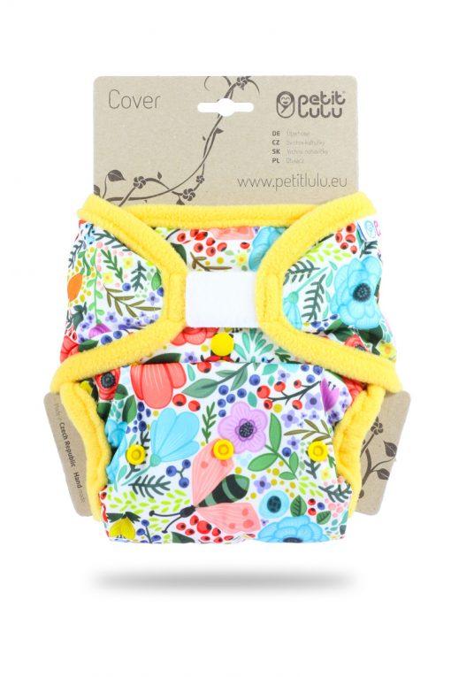 Billenboetiek wasbare luiers Petit Lulu Cover OS velcro front Blooming Garden