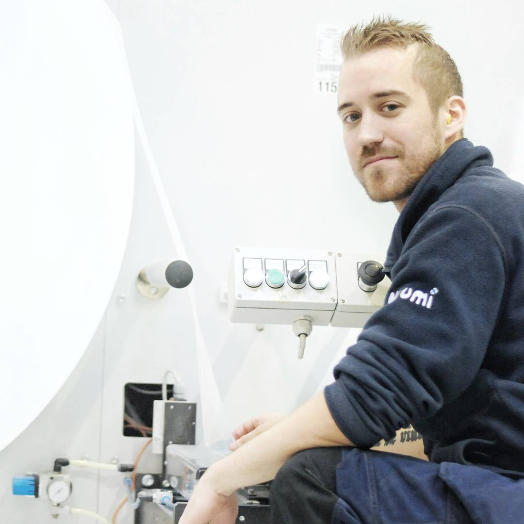 Rasmus medewerker Muumi fabriek Finland billenboetiek Utrecht wasbare luiers
