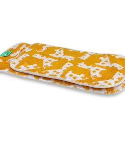 Wasbare luiers pieluszka peenutpads Billenboetiek Utrecht Totsbots Giggleraff giraffe