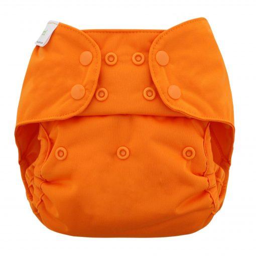 BLUEBERRY CAPRI overbroekje billenboetiek wasbare luiers orange