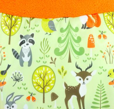 Petit Lulu Verschoningsdekentje Wasbare luiers Billenboetiek Forest