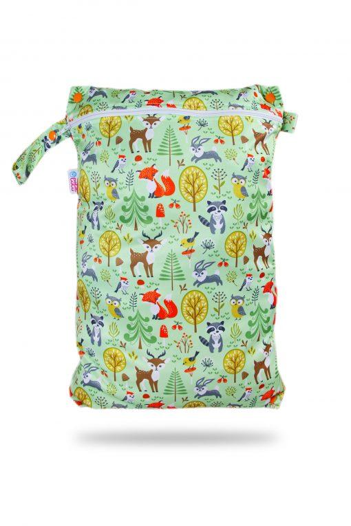 Petit Lulu wetbag voor wasbare luiers billenboetiek Utrecht Forest