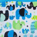 Verschoningsdekentje billenboetiek Petit Lulu Elephant Utrecht gevouwen
