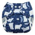Blueberry Capri overbroekje voor wasbare luiers Billenboetiek harcticnight