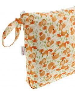 Blueberry wetbag voor wasbare luiers Billenboetiek Red Fox