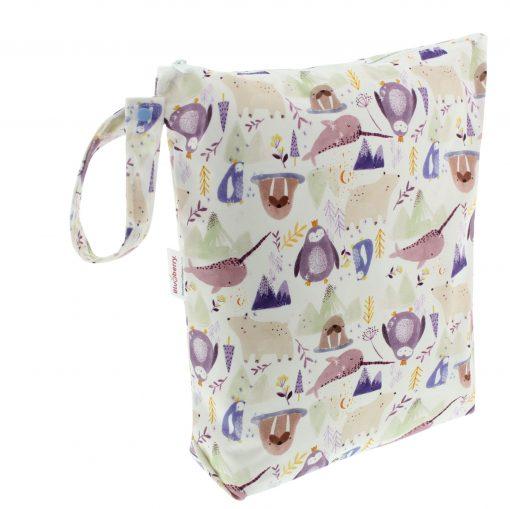 Blueberry wetbag voor wasbare luiers Billenboetiek Wally