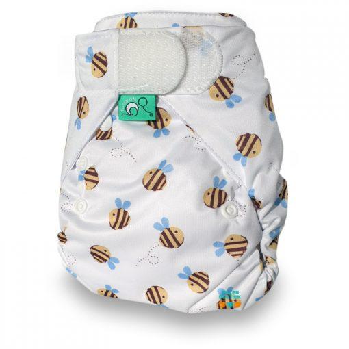 Totsbots peenutwrap wasbare luiers Billenboetiek Buzzy Bee