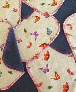 Wasbare billendoekjes Billenboetiek Utrecht vlinder