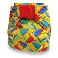 Totsbots Bright Yellow Parrots wasbare zwemluier Billenboetiek Utrecht Pappegaai