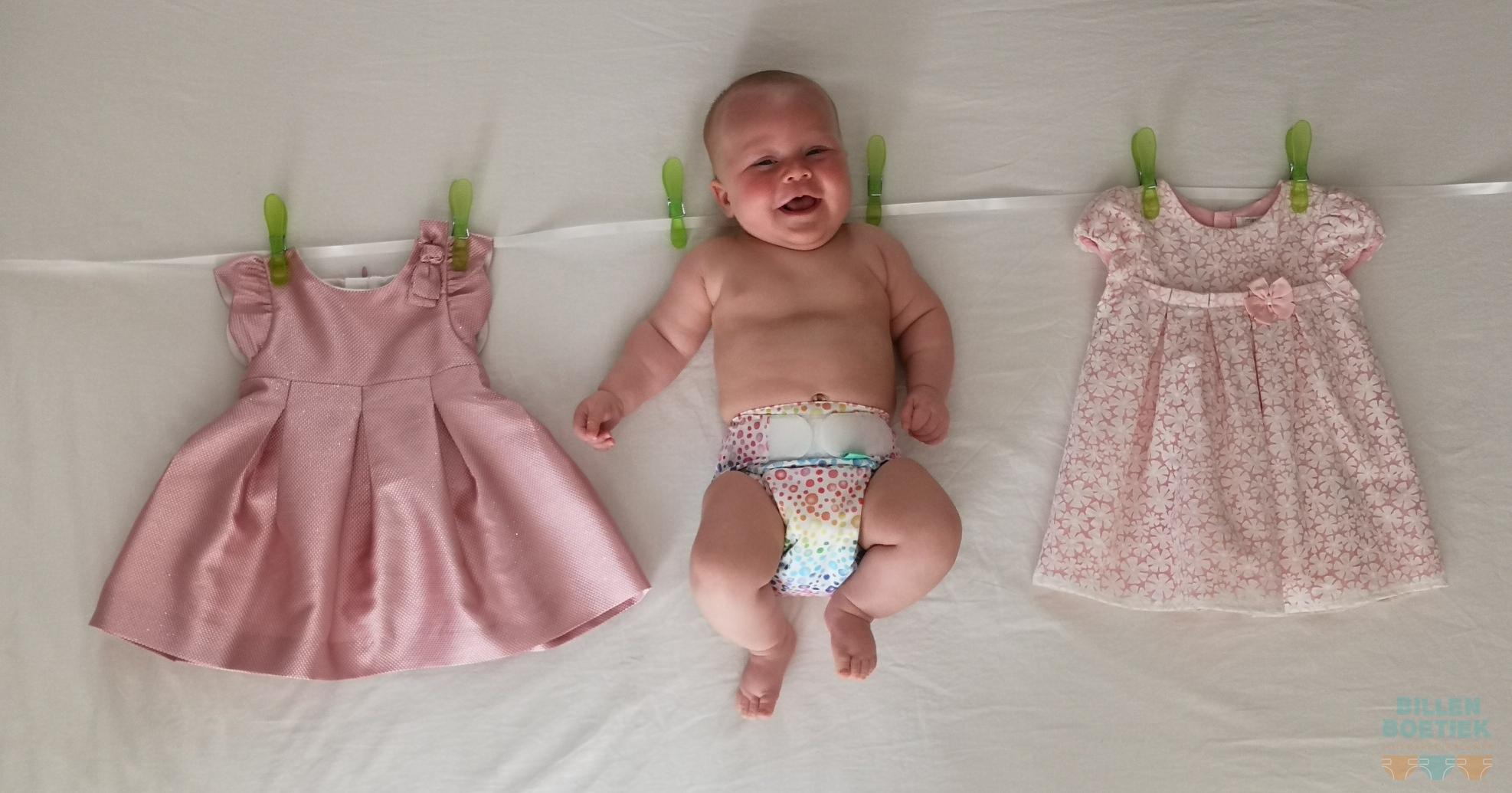 Waslijn met wasbare luier kindje van Lindsey Michiels