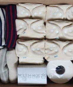 pakket wasbare luiers maat 1 billenboetiek utrecht wol